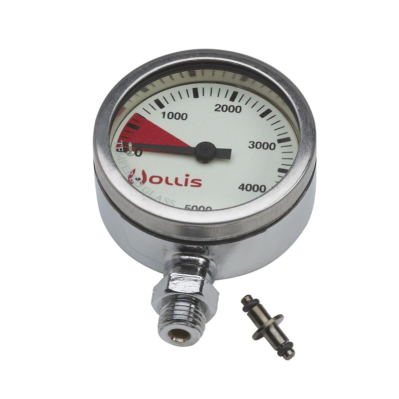 Pressure Gauge Module Psi Metal W/out Boot