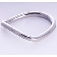 """2"""" D-RING BENT STAINLESS"""